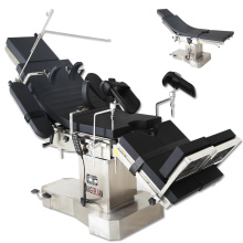 High configuration electric operating table