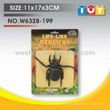 Окружающая среда содружественная модель игрушки нетоксичные резиновые насекомые на продажу