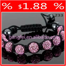 pulseras rosa