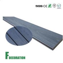 Plástico de madeira do Decking composto exterior impermeável da co-extrusão