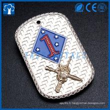 Fabricant en métal personnalisé pour étiquette de chien soldat