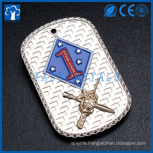 custom metal manufacturer for soldier dog tag