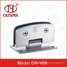 Ss304 Double Sides 90 Degree Round Shower Hinge (CR-Y06)