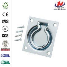 3 in. x 3-1/2 in. Zinc-Plated Trap Door Ring