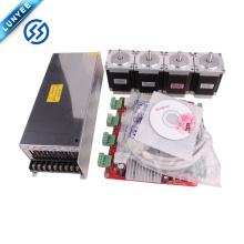 Водитель 4axis с TB6560 шаговый мотор nema23 мотор 5А And76MM для маршрутизатора