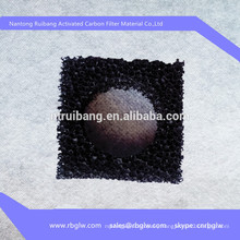 manufacturing odor removal material small activated carbon filter