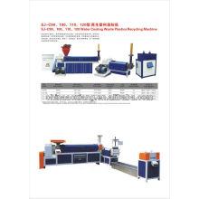 Máquina de reciclagem de filme plástico AXSJ-105-90 / Granulador de plástico na China