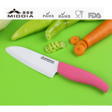 "Pink Handle 5.5"" Ceramic Kitchen Utility Knife"