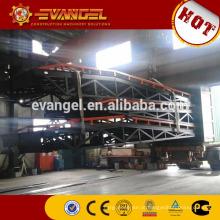 Rampas de pátio móvel de 8 toneladas para rampa de carga e descarga de contêineres móveis para empilhadeiras