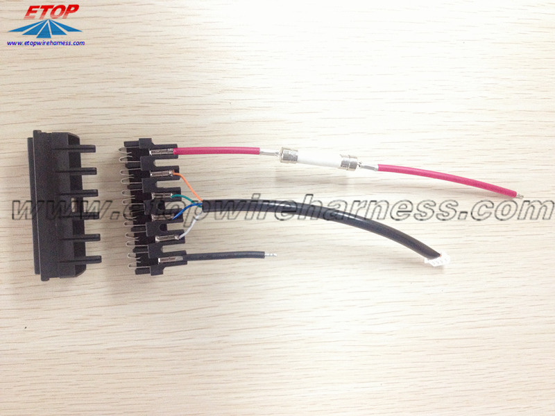 wire assemblies for EV