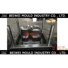 Moule semi-automatique en plastique de machine à laver de double de machine à laver d'OEM d'OEM