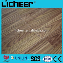 Indoor Fabricantes de pisos laminados na China em relevo superfície 8.3mm / fácil clique em piso laminado