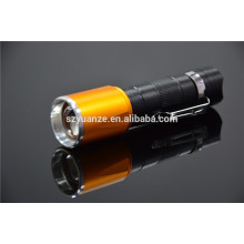 zoom dimmer led flashlight, chinese led torch flashlight, t6 led flashlight, telescopic led flashlight