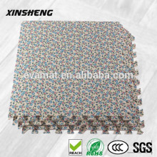 Interlocking EVA indoor printed mat