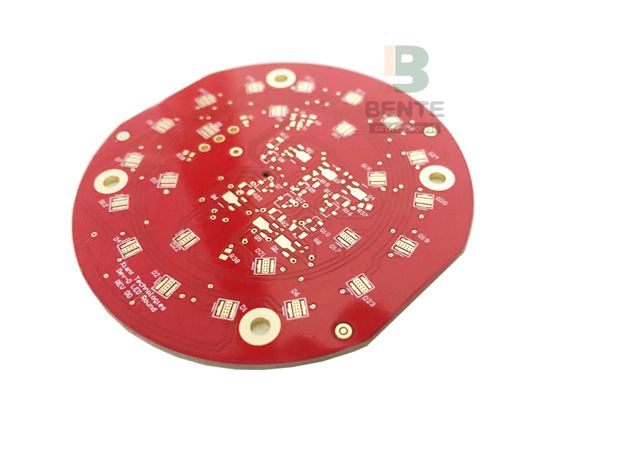 LED PCB Red Ink