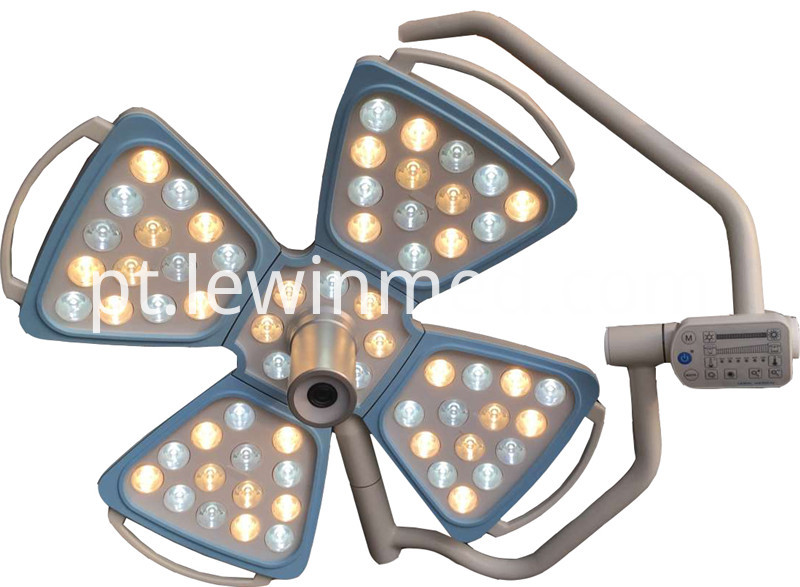 Ceiling lamp with camera system