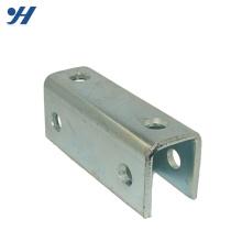 Hardware de aço galvanizado de alta qualidade em forma de U suporte de Metal