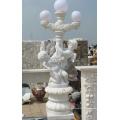 Ornement de jardin Statue en sculpture en pierre sculptée avec grès en granit de marbre (SY-X1152)
