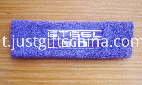 Custom Embroidered Terry Headbands