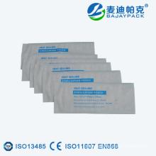 Heat sealing sterilization flat reel/packaging pouch producer
