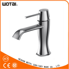 Chrom Finished Single Lever Basin Tap