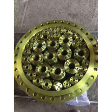 DIN2576 PN10 YELLOW PAINTING STEEL FLANGE