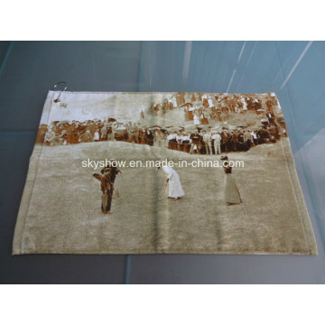 Custom Full Printed Golf Towel (SST1007)