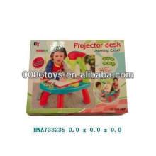 Обучающий настольный проектор с цветной коробкой обучающие игрушки для детей