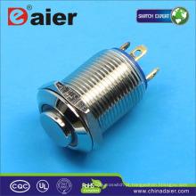 Daier 4 pinos 12 volts iluminado interruptor de botão à prova d 'água