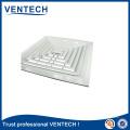 Air Conditioning Ceiling Diffusers Aluminum Square Air Vent Air Grille
