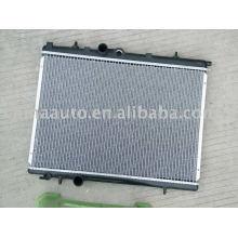 radiador auto del coche de aluminio para PEUGEOT 206