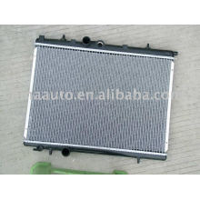 aluminum car auto radiator for PEUGEOT 206