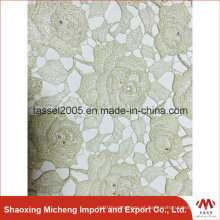 Fios Shinning Guipure Lace com Sequins 3052