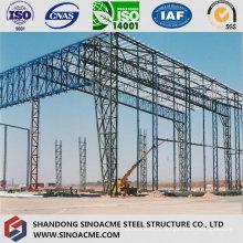 Structure de colonne en treillis de grande hauteur pour l'entrepôt Peb