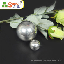Foshan factory direct customized stainless steel hollow ball decoration ball SS304/201