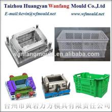 Chinese plastic vegetable crate mould supplier/Proveedor chino del molde del cajon del plastico
