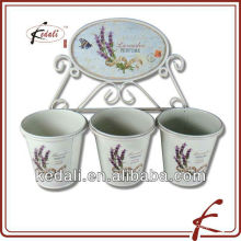 tin home decoration ceramic flower vase