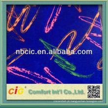 Tecido de assento de carro de ônibus fabricado na China
