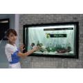 """32 """"Touch Screen transparenter LCD Schaukasten"""