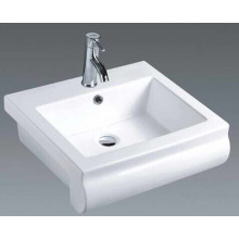 Middle East Bathroom Ceramic Countertop Basin (7104)