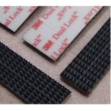 Self Adhesive Pita Magic Black Dot Lock Tape