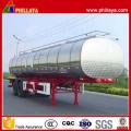 Véhicules utilitaires en aluminium en alliage mazout citerne camion citerne Semi remorque