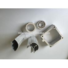6063 T6 Radiador de extrusión de aluminio / disipador de calor de extrusión de aluminio