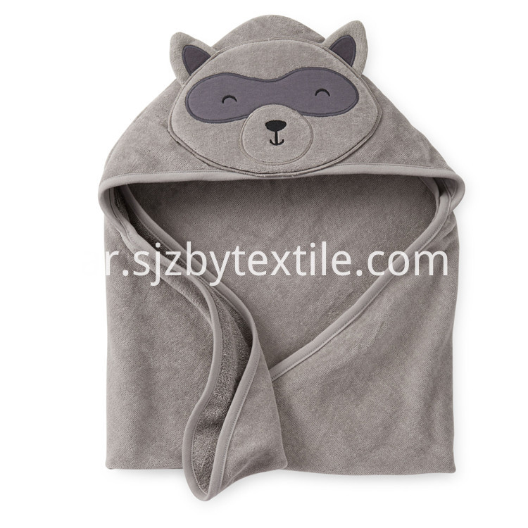 Bamboo Fiber Baby Hooded Towel