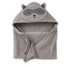 Costom Design Organic Bamboo Fiber Baby Hooded Towel