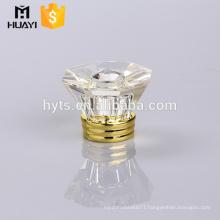 crystal shiny clear perfume spray cap