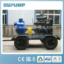 Pompe auto-amorçante de 6 pouces, pompe à eau diesel pour l'irrigation