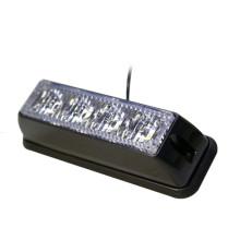 4 LED 12V / 24V Parrilla de coche Luz estroboscópica intermitente de emergencia Luz de seguridad Advertencia