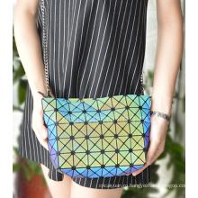 Очень мягкие светоотражающие мода пу сумка для девочек