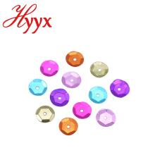HYYX 2мм 3мм 4мм 5мм 6мм 8мм 10мм 12мм 15мм, плоские круглые блестки
